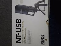 RODE NT-USB RECORDING MICROPHONE