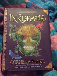 Inkdeath - hardcover book - new