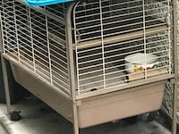 Beige steel pet cage Pittsburg, 94565