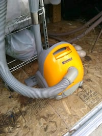 yellow and gray canister vacuum cleaner Montebello, 90640