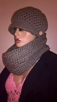 Pufff stitich hat and cowl set