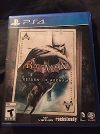 Batman Arkham ps4 game  Delta, V4C 5B6