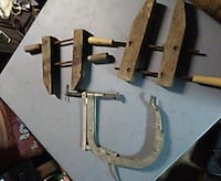 stainless steel c-clamp and equipments Oakdale, 95361