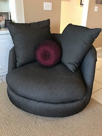 Thayer Coggin oversized swivel chair MCM Las Vegas, 89135