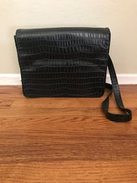 Black leather purse (Wilson's leather )