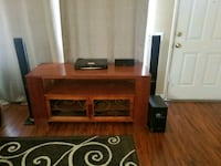 Real wood entertainment center w home theater  Brawley, 92227