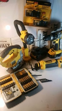yellow and black DeWalt cordless power drill Kelowna, V1Y 6X7