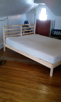Ikea bed frame and queen matress. 3 months old. Toronto, M6K 2L6