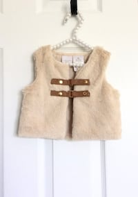 Kardashian kids faux fur vest size 9m- Brand New with tags Mississauga, L5M 0C5
