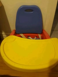 baby's blue and yellow floor seat Chambly, J3L 5X1