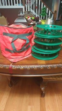 Set of 4 christmas lights storage reels with carri Hamilton, L8W 2R2