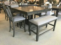 6PC Dining Set with Bench! Houston, 77020