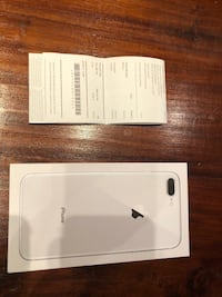 Iphone 8 plus nuevo con factura y funda apple original