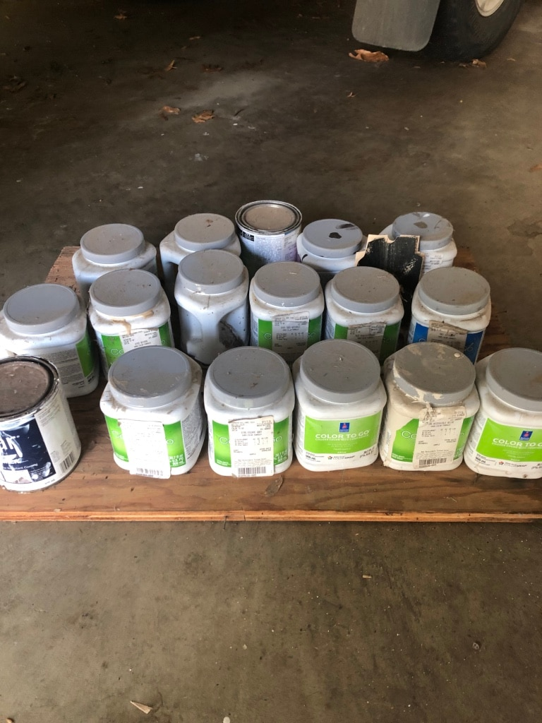 Photo Sherwin Williams Paint samples