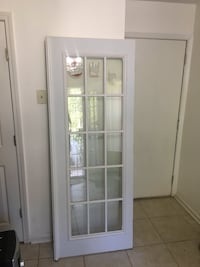 Interior/exterior panel glass door