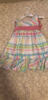 pink, blue, and green plaid sleeveless dress Alexandria, 22305