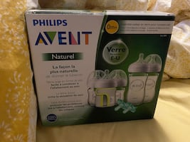 Avent Philips Natural Glass Bottle Set