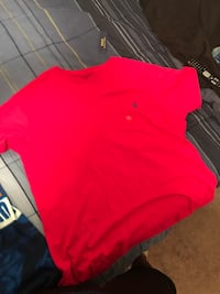 Brand new XL Polo shirt (more pink than red)