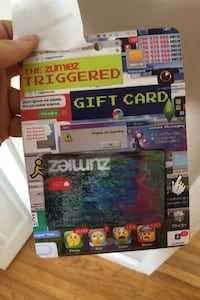 Zumiez gift card $100 value  Coquitlam