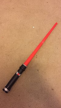 black lightsaber sword toy