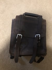 Leather backpack/satchel  Springfield, 22152
