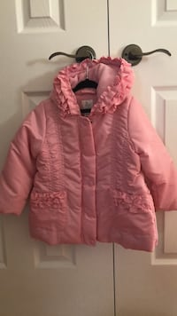 Pink zip-up bubble jacket Vaughan, L4H 3P6