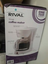 Rival coffee maker. Like brand new. Mississauga, L5A 3X2