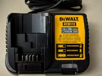 New Dewalt 20v/12v Battery Charger Brampton