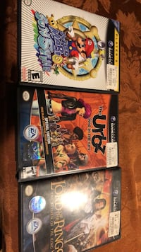3    nintendo  game cube games Stewart Manor, 11530