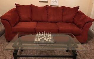Living room set (Couch, chair, coffee table)