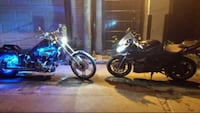 blue and black standard motorcycle Toronto, M4M 1Y2
