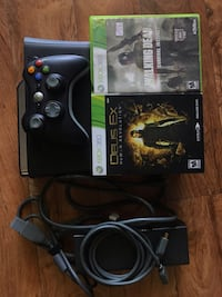 Xbox 360 with 2 games  Santa Monica, 90401