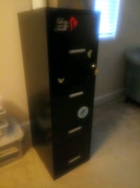 4 Drawer File Cabinet - Used - Good Condition Silver Spring