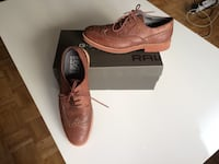 Par de mocasines oxford marrón con caja Madrid, 28003