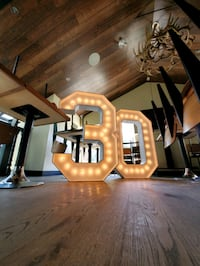 Marquee Numbers Rental Cambridge, N1R 5S2