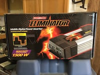 Moto master eliminator mobile digital power inveter box.75.00 obo Shelburne, L9V
