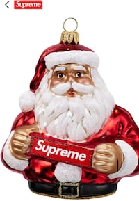 Supreme Santa ornament red  Santa Monica, 90404