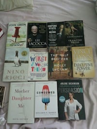 30 for the whole lot or $3 per book Mississauga