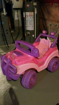Barbie car battery charged