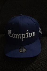 Blue Compton with west side logo on the side