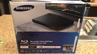 Samsung Blue-Ray disc player / DVD player with streaming services Edmonton, T5S 0J9
