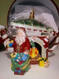 Waterford Holiday Heirlooms Fireside Holiday Teapot Ceramic 929/5000 Lorton, 22079