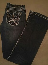 black Miss Me denim jeans
