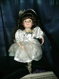 porcelain doll in white dress Hagerstown, 21740
