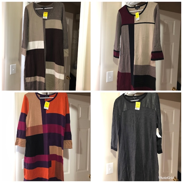 Ladies Size Large Sweater Dresses (Brand New)