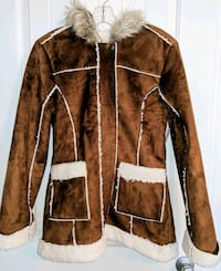 NEW Justice Chestnut Brown Coat with hood. Virginia Beach, 23456