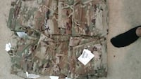green and brown camouflage cargo shorts Grovetown, 30813