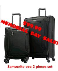 Samsonite 2 piece luggage set new  Kenilworth, 07033