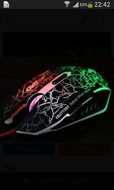Ratón Gaming 6D Optical Mouse
