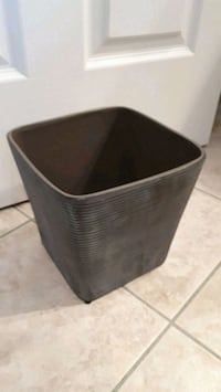 New Grey Ceramic Planter Pointe-Claire